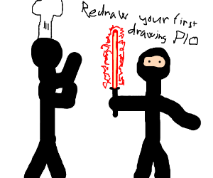 Redraw your first drawing (PIO)