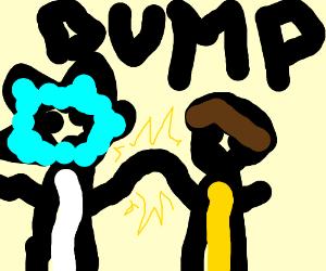 Rick and Morty bumpin knucks