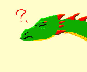 Green Dragon is confused