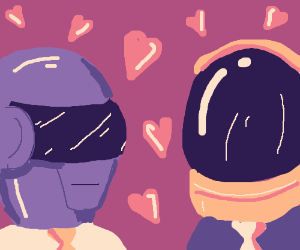Daft punk are in love :3