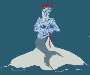 Mermaid king in the Arctic
