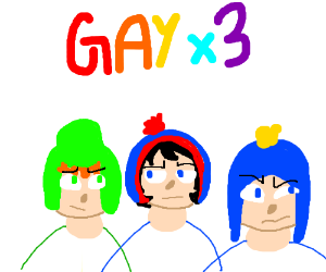 Triple gay