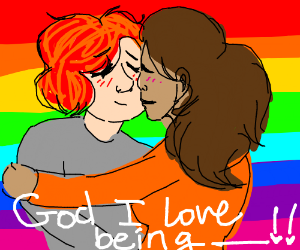 Being gay is great :)