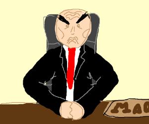 Chairman Mao is Upset