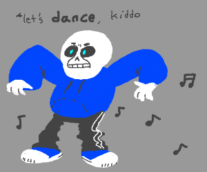 Dancetale Sans GonnaDestroy U In A DanceBattle