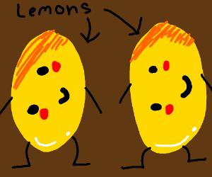 lemons stand