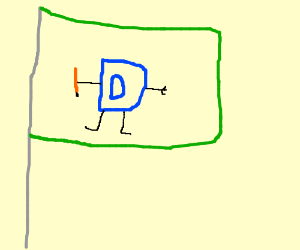 Drawception as a flag PIO