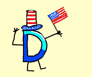 Drawception is incredibly patriotic