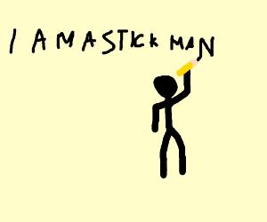 stick person
