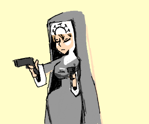 Nun with Guns