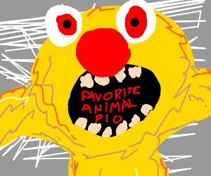 Favorite animal PIO