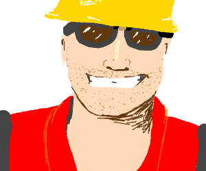 Engie isnt ugly, hes a beautiful texan