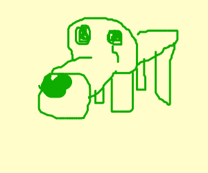 green dog go away and wants to be remembered