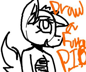 Draw a Furry! P.I.O.