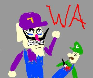 Waluigi murders someone