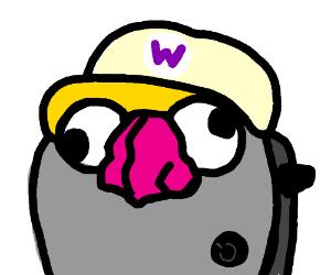 Toaster no like Wario