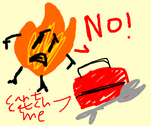Flame lost it's toolbox