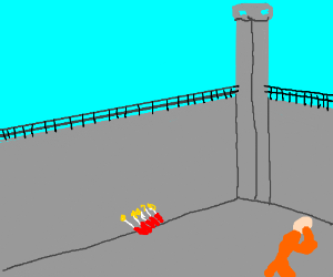 SCP Site-19 (Destroyed by warheads) - Drawception