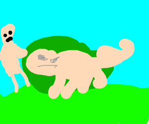 normal-speed the bushpig - Drawception