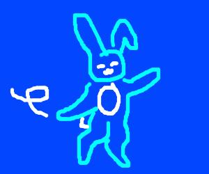 Dancing Blue Bunny