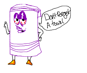 DON'T FORGET A TOWEL KIDS.