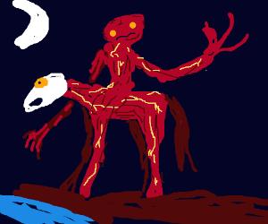Macabre rider