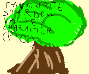 Favorite Stardew Valley Character PIO