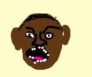 m ojo makes a face