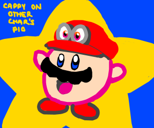 cappy (mario odyssey) on other characters pio