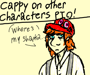 Cappy on other characters PIO