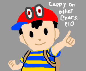 Cappy on other characters Pass It On (PIO)