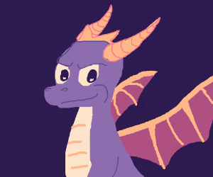 Dragon from a PlayStation game