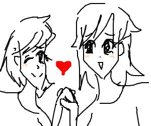 Anime Lesbian Love