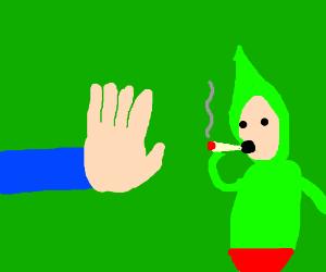 iDubbbz is smoking weed again! Stop him!