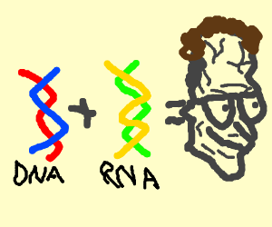 If you have DNA and RNA you're a nerd
