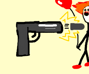 three guns shooting at... uh, hell if i know