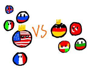 WWI: Countryball Edition