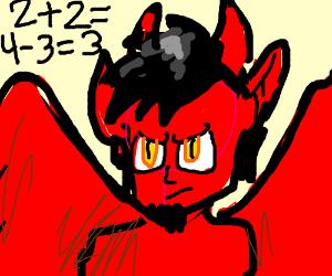 Satan does quick math