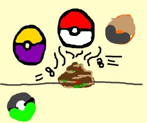 different types of poke balls