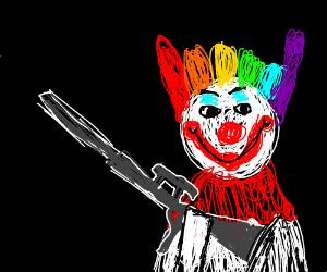 Sniper clown