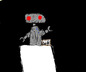 derek the robot