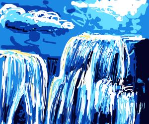 Infinate waterfalls