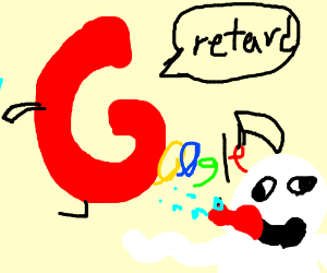mutant google says retard