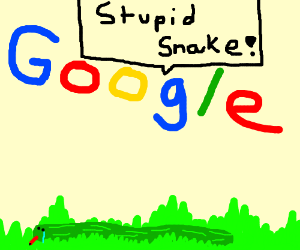 Google Insulting A Snake