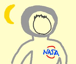 Faceless Astronaut