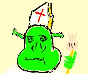 Shreklike Performer Pope
