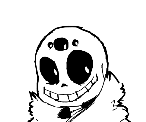 Sans with extra eyes