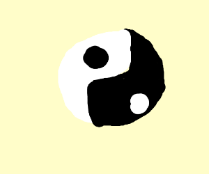 Vexx on youtube has drawn ying and yang