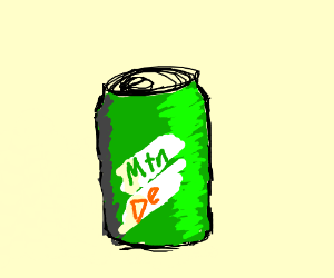 poorly drawn pathetic mnt deeew can