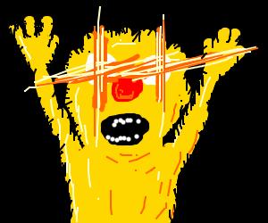 Yellmo with mini lens flares
